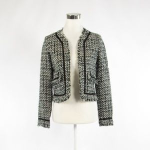 True meaning black long sleeve blazer jacket 4